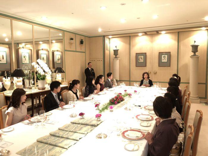2018/9/29 福岡:魅力学テーブルマナーのお知らせ