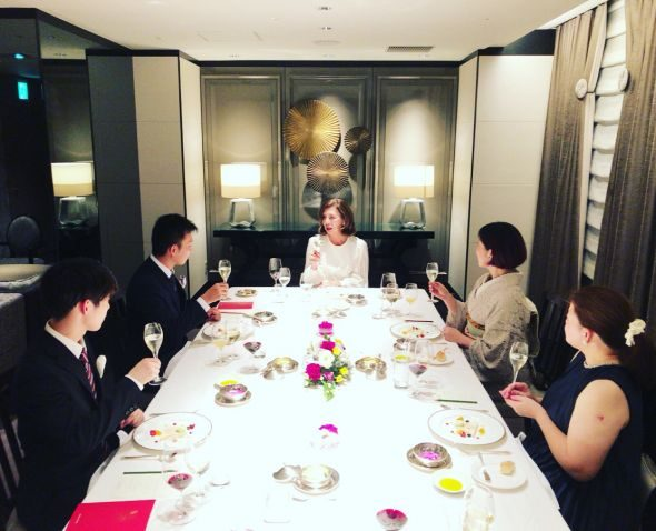 2020/11/15 福岡:魅力学テーブルマナーのお知らせ